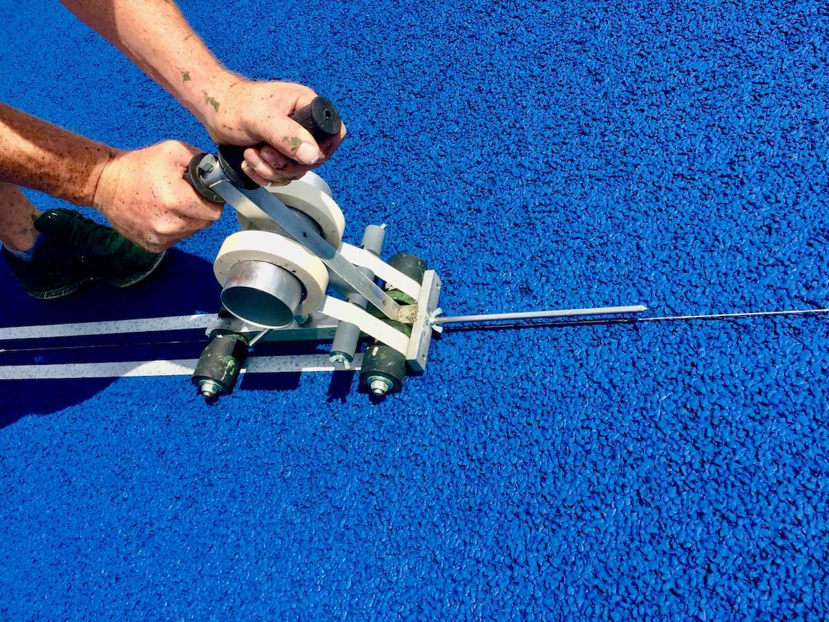 Blue Court and Line Marking Tool